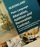 Contract signed for the renovation of our Queenslander