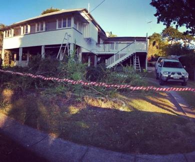 Asbestos removal for Queenslander renovation