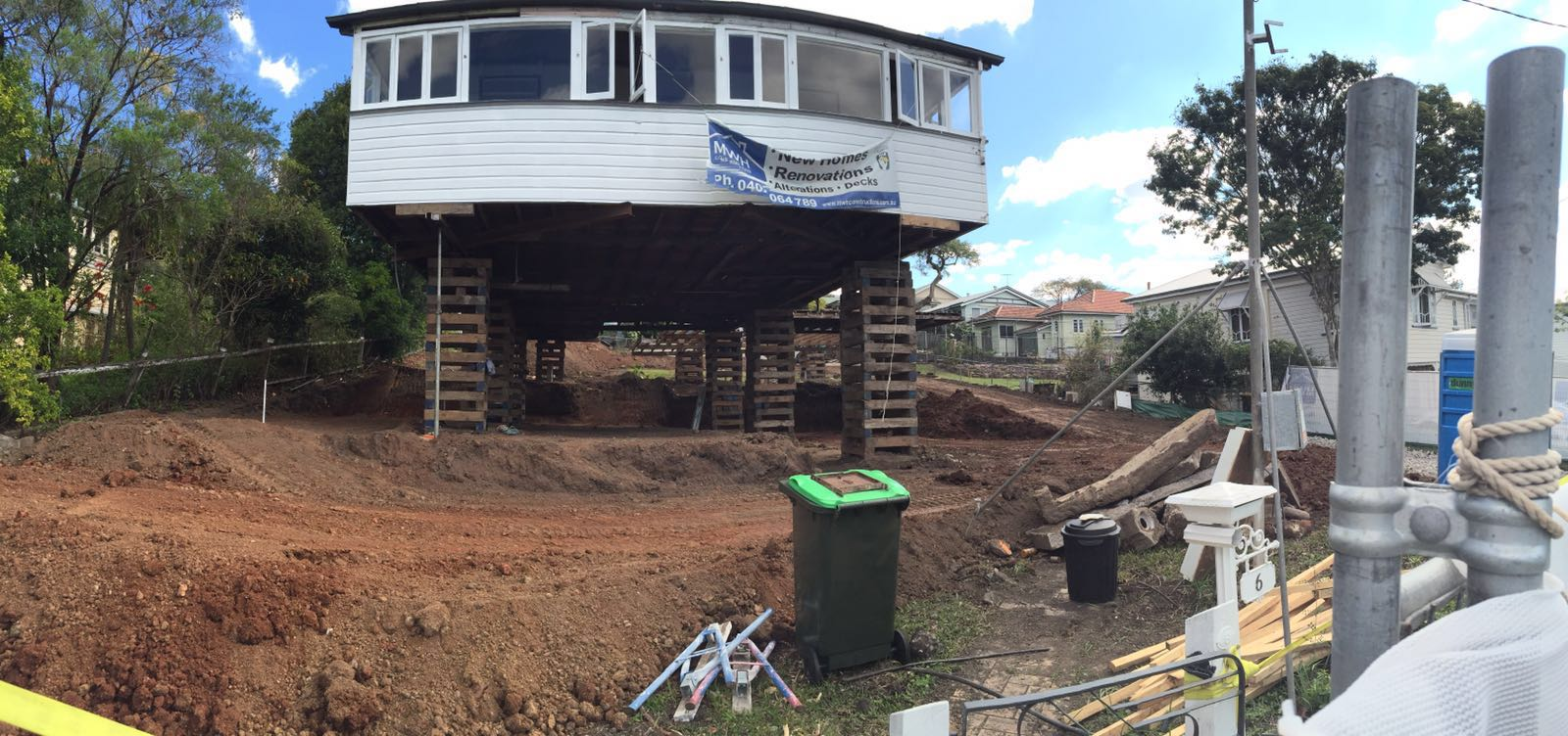 Queenslander Renovation   Excavation And Site Clearing