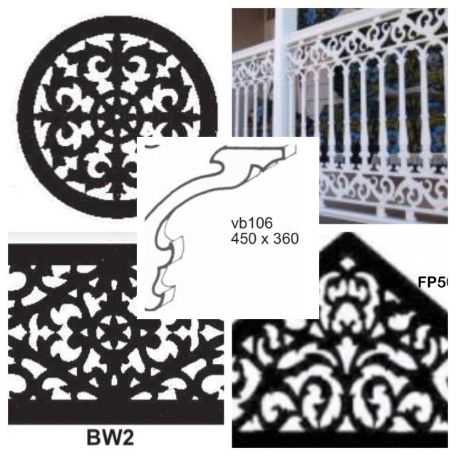 Colonial / heritage detailing for Queenslander renovation