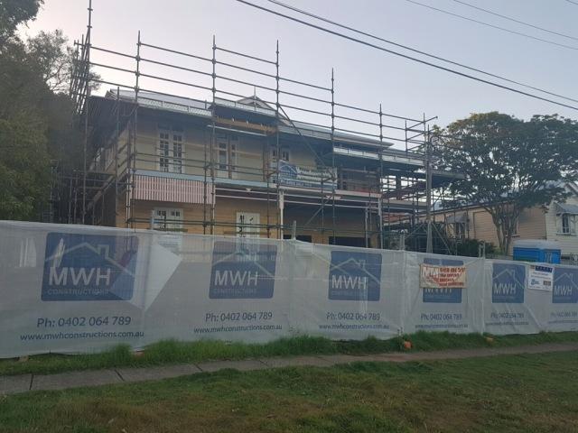 Queenslander renovation half-way point!