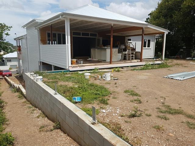 Queenslander - backyard shot
