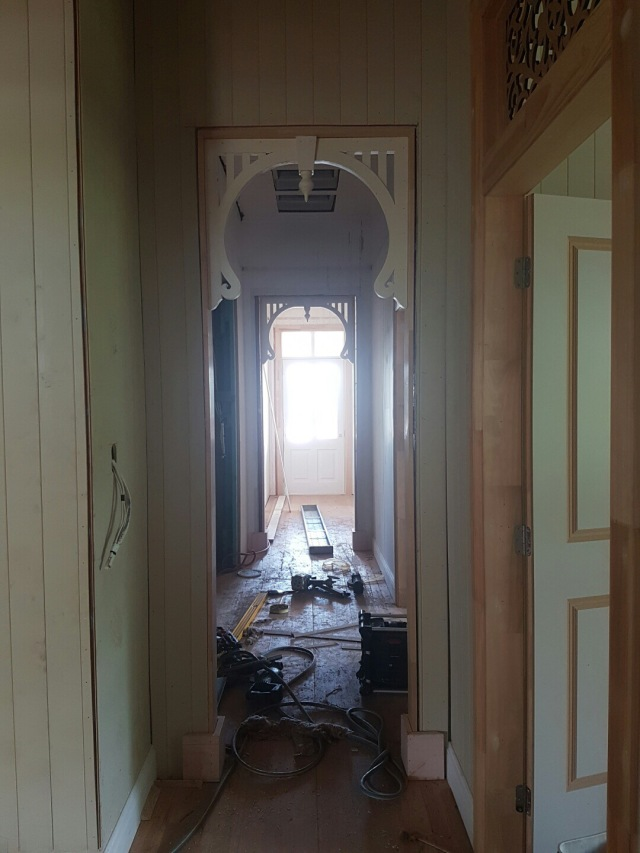 Entry hallway - Queenslander renovation