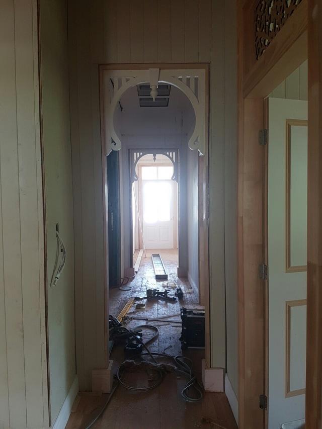 Entry hallway - Queenslander renovation