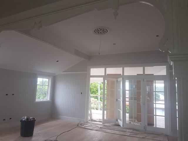 Queenslander living room ceiling rose!